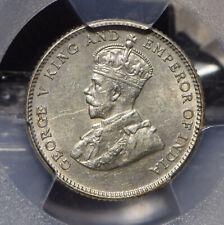 Straits Settlements 1927 10 Cents PCGS AU58 PC0598 combine shipping