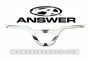 Answer Bmx Ecpert Carbon Handlebar White