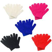 Children Gloves & Mittens Girl Boy Kids Stretchy Knitted Winter Warm Glove