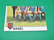 PANINI FOOTBALL EURO FOOTBALL 79 1978-1979 N°308 FC BASEL PART 3 SUISSE SCHWEIZ