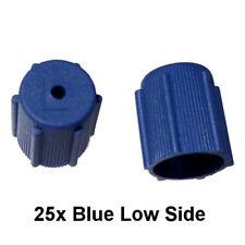 25x A/C Charge Port Service Cap Blue Low Side M8x1.0 R134A Fit MT0063 (I.D 13mm)