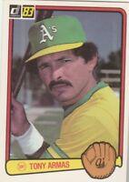 FREE SHIPPING-MINT-1983 Donruss - #71 Tony Armas Oakland A's