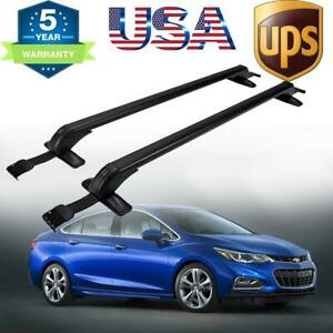 For 2010-2017 Chevy Cruze Roof Rack Cross Bar Basket Carrier Window Frame OE US