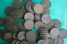 100 Coin Lot 1930 thru 1939 Copper One Cent Penny Assortment 1930-1939 1c Wheat