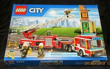 New LEGO CITY Fire Engine Set 60112 (2016) Sealed Retired Rare Hard to Find