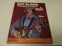 Roy Clark Happy Pickin' Guitar Songbook Big Note Guitar Vtg.