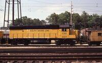 CSS SOUTH SHORE LINE Railroad Train Locomotive 2001 Original 1984 Photo Slide