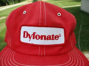 Vintage Dyfonate Patch Snap Back Hat K-Brand Farm