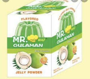 Mr Hat Gulaman Jelly Buko Pandan Flavour 1 BOX