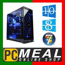 INTEL Core i7 7700 Max 4.2GHz GTX1050Ti 4GB 1TB 8GB Gaming Computer Desktop PC