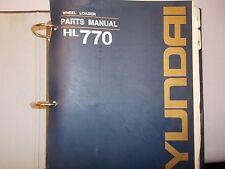 Hyundai Robex HL770  Wheel Loader Parts Manual