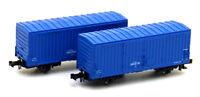Kato 8033 Freight Car WAMU 380000 Blue 2 Cars (N scale)