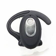 Motorola H730 Bluetooth Silver/Black Ear-Hook Headsets in Retail Packaging