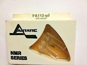 PANASONIC EPS-405QD Phono Aguja En Astatic PA112-QD Pkg Nos-Quad Diamante