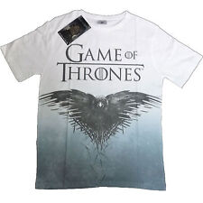 Game Of Thrones T-Shirt OFFICIAL Crow Sublimation Raven Full Print Unisex