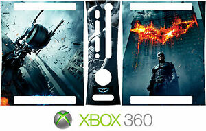 Xbox 360 BATMAN DARK NIGHT Vinyl Skin Decal Sticker