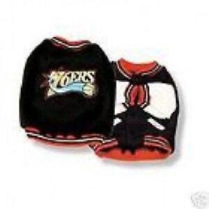 Sporty K9 NBA Philadelphia 76ers Dog Varsity Jacket CLEARANCE CLOSE OUT