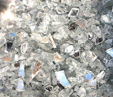 250g Mirror Glass Chippings Fine Small Vase Fish Garden Craft Authentic NEW