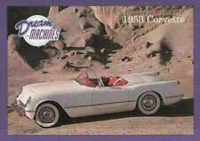 1953 Corvette, Dream Machines Cars, Trading Card, Automobile - Not Postcard