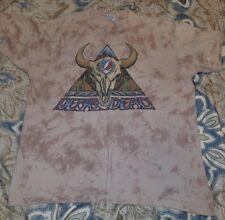 Vintage Grateful Dead 1994 Las Vegas Scorched Desert Tour Shirt XL Tie-Dye Rare