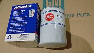 AC Delco Classic PF35 Oil Filter Chevy V8 68-92 350 454 396 327 Camaro Chevelle