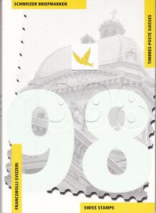 Jahrbuch 1998 Schweiz mit allen Marken Postfrisch ** MNH
