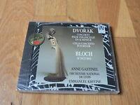 Gastinel, Krivine - Dvorak : Cello Concerto - Bloch : Schelomo - CD Valois NEW