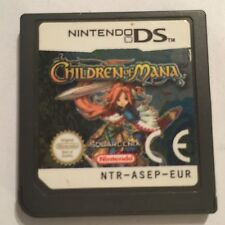 CHILDREN OF MANA NINTENDO DS DSL DSi GAME CARTRIDGE ONLY UK/EURO PAL Squre Enix