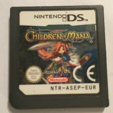 CHILDREN OF MANA NINTENDO DS DSL DSi GAME CARTRIDGE ONLY UK/EURO PAL Squre Enix