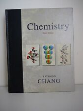 Chemistry by Raymond Chang (Hardback, 2007) HC Ninth Edition Text book