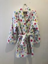 Cath Kidston Stars nightwear Dressing Gown Bath Robe - Age 6-8