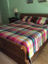 Dransfield and Ross $ 2,225 Multicolor Quilted Cover King Size and 2 Pillow