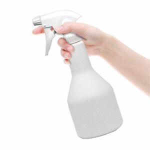 Langhals Leersprüher Sprühflasche weiß - Sprühkopf glänzend