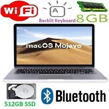 "Apple MacBook Pro 13.3"" Laptop ME662LLA Core i7 3.0GHz 8GB 512GB SSD Mojave-2018"