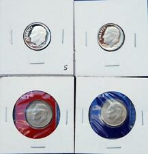 2009 P/D/S & S DIMES (4 COIN )
