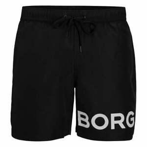 Bjorn Borg BORG Logo Karim Boys Swim Shorts, Black