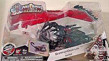 SABAN'S 2012 POWER RANGERS SUPER SAMURAI SCORPION CREATURE & DEKER FIGURE RARE!