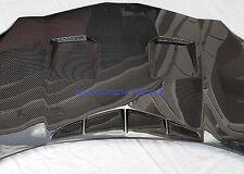 Lamborghini Aventador Carbon Fiber Front Hood Bonnet With Custom Intakes & Vents