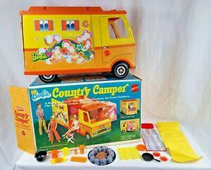 Vintage 1970 Mattel Barbie Country Camper #4994 in Original Box