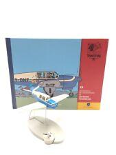 En Avion Tintin l'avion bleu des kidnappeurs l'affaire tournesol  N19 livret