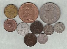 More details for ten key date coins 1904 to 1959 in a used condition