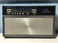 Jade 12 Solid State 2215 12 Transistor 4 Diodes Pocket Radio Working Great