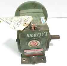 GE GENERAL ELECTRIC 17.5:1 RATIO 1/2HP GEAR REDUCER 7NA712LT2AA / PF1439D