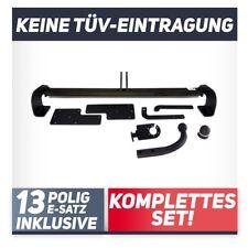 ELEKTROSATZ 13polig für ANHÄNGERKUPPLUNG für Fiat Sedici 06.2006-jetzt