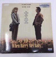 When Harry Met Sally Laser Disc Movie Starring: Billy Crystal Meg Ryan C.1989