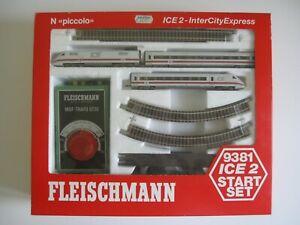 Fleischmann N piccolo 9381 ICE 2 Intercity Express Startset - OVP unbepielt