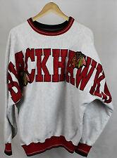 Vintage Chicago Blackhawks Living Legends Spellout Crewneck Sz L