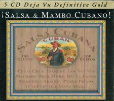 Salsa & Mambo Cubano - Irakere/Perez Prado/Tito Puente/Celia Cruz Box 5X Cd Mint