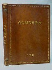 LES TUEURS A GAGES (CAMORRA) SCRIPT TAPUSCRIT -1972 - CINÉMA - Pasqual SQUITIERI