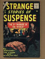 Strange Stories of Suspense 16 (G+) Atlas Comics 1957 Fox Powell art! (c#04601)